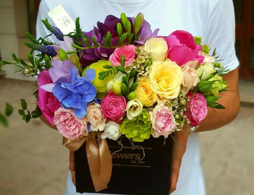 Bucurati-va de aranjamente florale spectaculoase