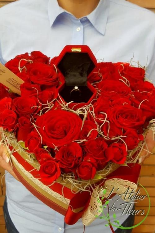 Flori de ziua indragostitilor