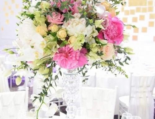 Flori nunta Ploiesti – minunatia aranjamentelor florale